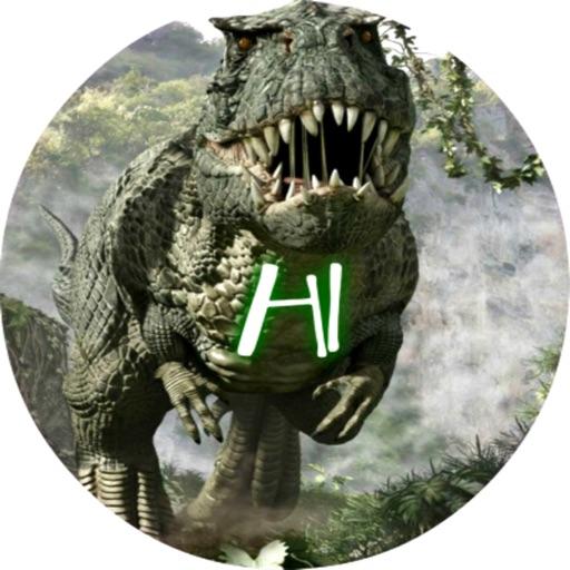Dinosaurs stickers by Nitro-X