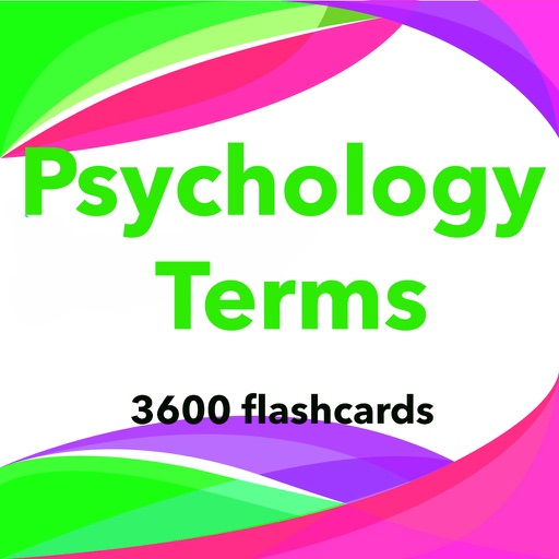 Psychology Terms App-3600 Flashcards & Study Notes
