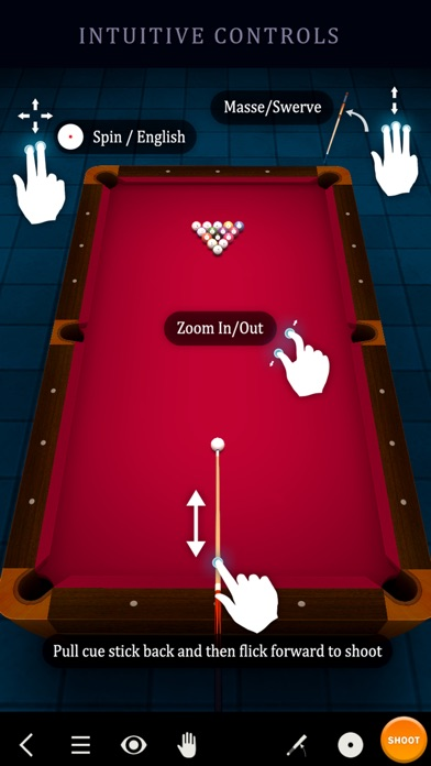 Screenshot #9 for Pool Break 3D Billiards 8 Ball, 9 Ball, Snooker