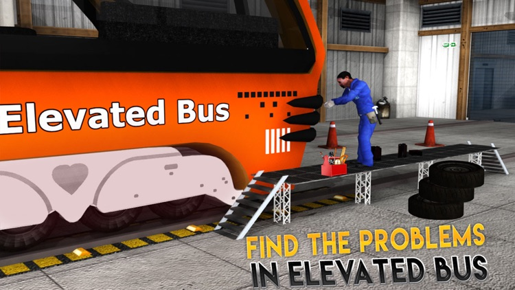 Real Bus Mechanic Simulator 3D Repair Workshop PRO screenshot-4