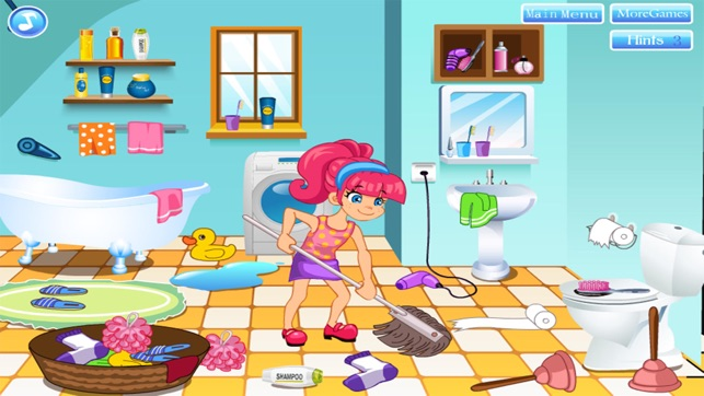 Cleaning House Decorating Games Girl For Free On The App Store