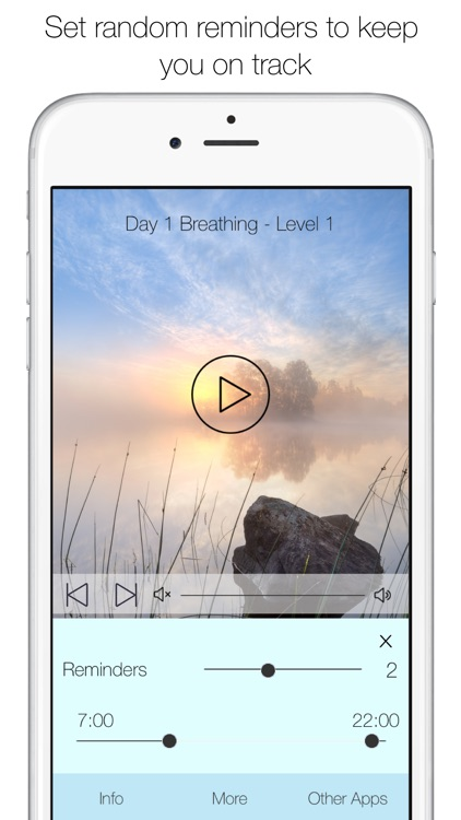 5 Minute Meditation - mindfulness for relaxation screenshot-3