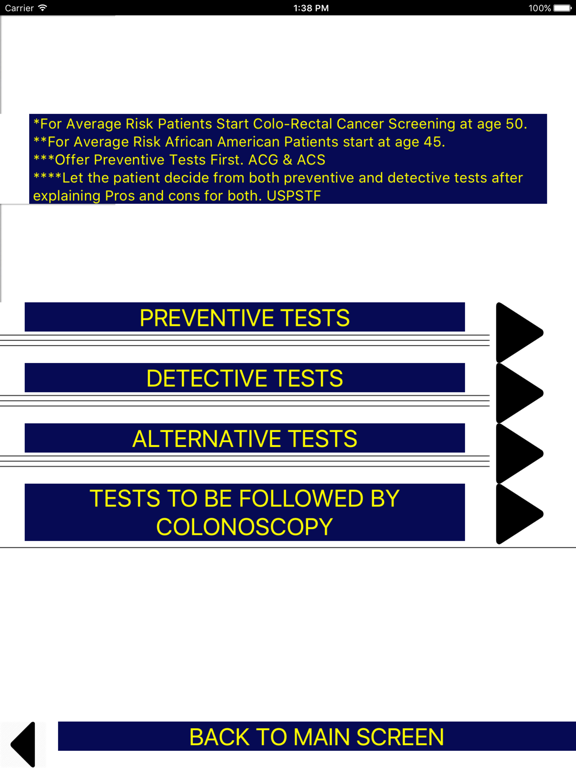 Colo-Rectal Cancer Screening screenshot 6