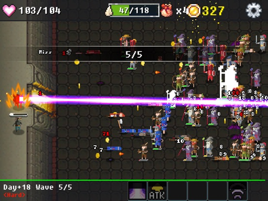Игра Dungeon Defense : The Invasion of Heroes