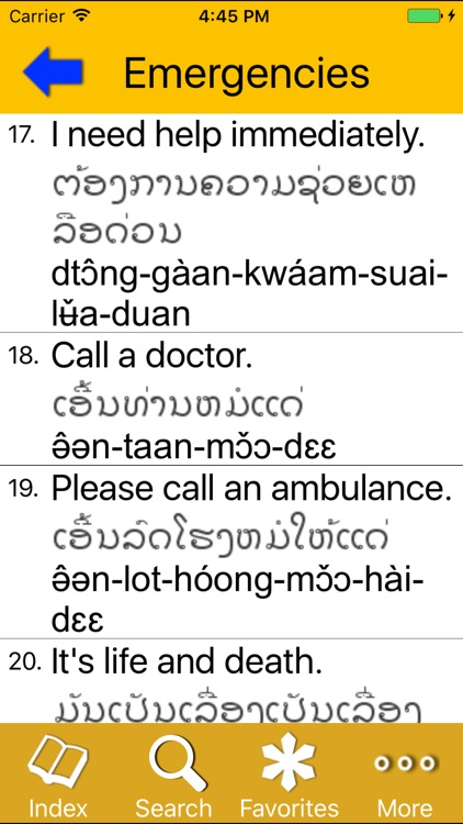 Survival Lao for English Speakers screenshot-2