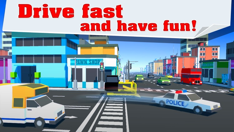Car Drifty Chase Road screenshot-3