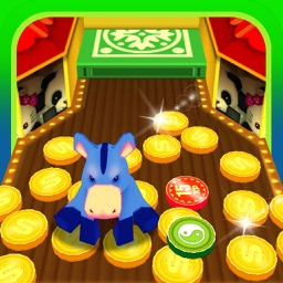 Coin Dozer Adventure! Big-Win Gold Cash Jackpot