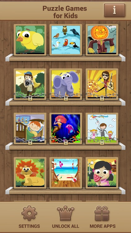 Puzzle Games for Kids - Fun Logical Game screenshot-1