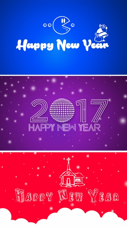 New Year Wallpapers - Christmas Countdown Cards screenshot-3