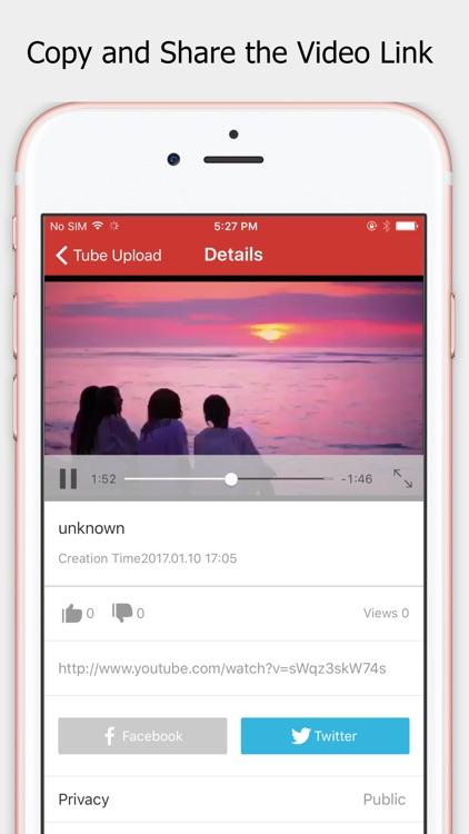 MyTube Uploader Pro-Batch upload video for YouTube
