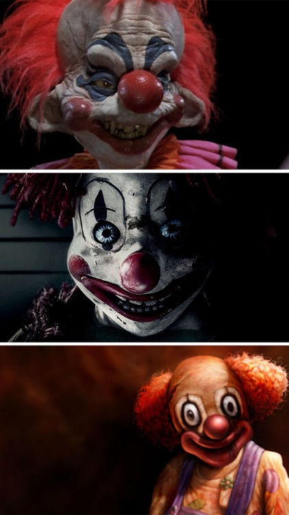 Clown Face WallpaperS HD, Funny Evil Pictures Free screenshot-3