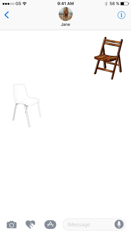 More Chairs One Sticker Pack