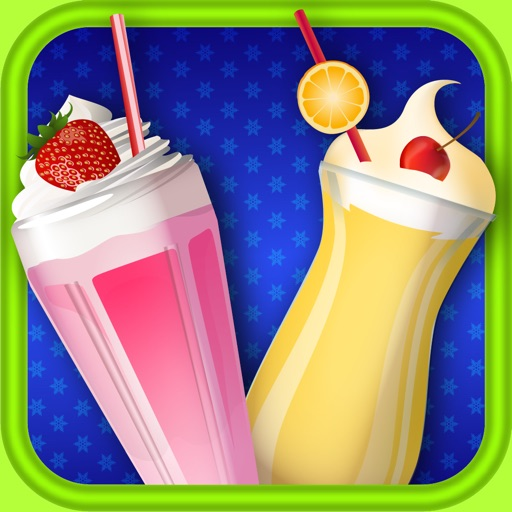 Milkshake Maker - Kids Frozen Cooking Games