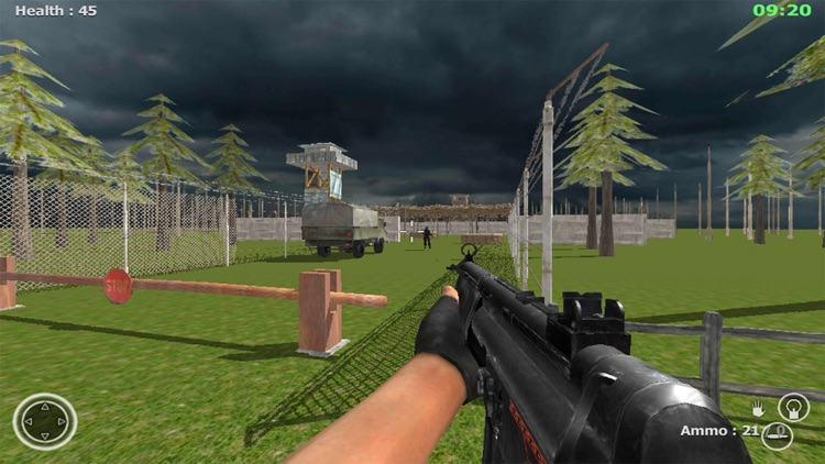 Commando Behind EnemyLines Sniper Combat Blackouts screenshot-4