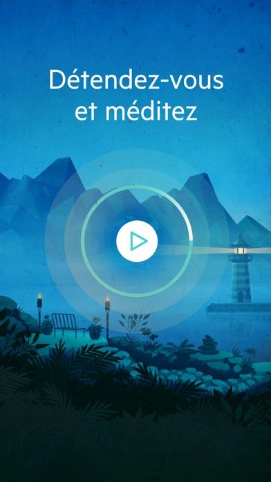 Screenshot #1 pour Relax Méditation P: Yoga Zen Petit Guide Bien Etre