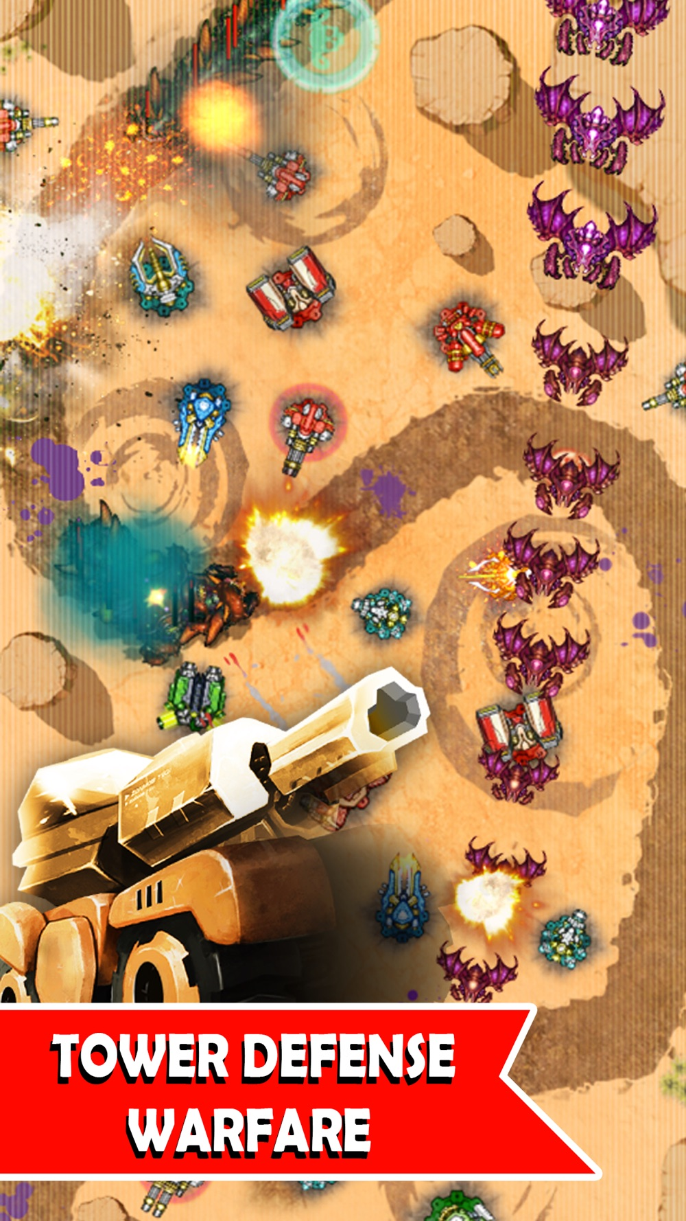 Tower Defense Zone – Strategy Defense game Cheat Codes