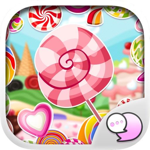 Keyboard & Emoji Candy Stickers for iMessage