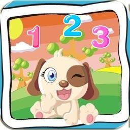 宝宝数字连线游戏