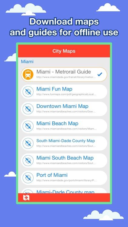 Miami City Maps - Discover MIA with MRT & Guides