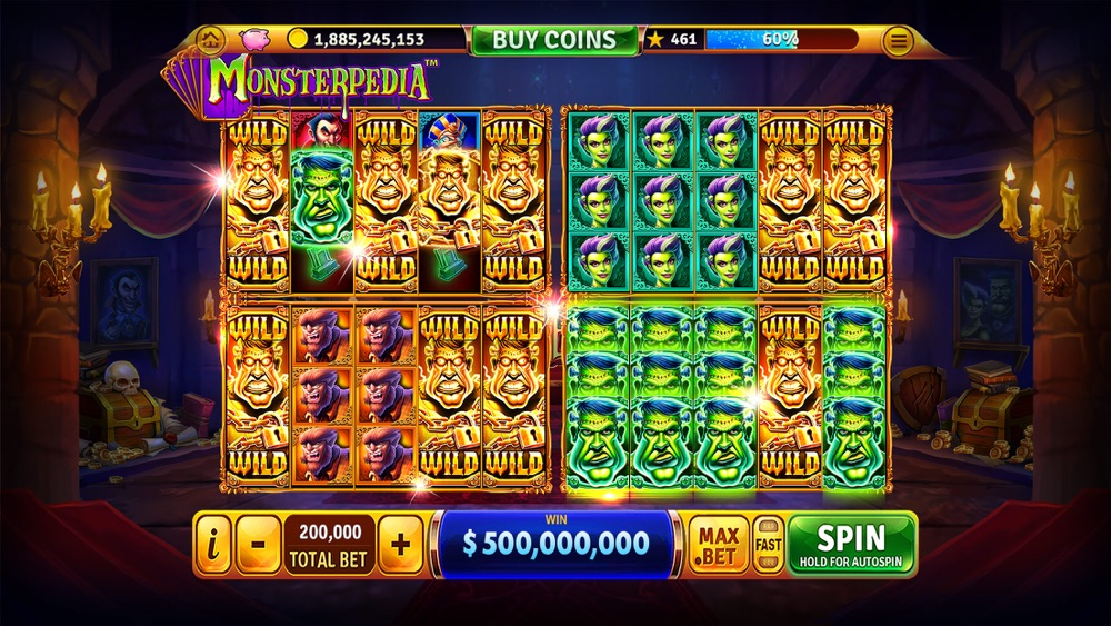 Free house of fun slots