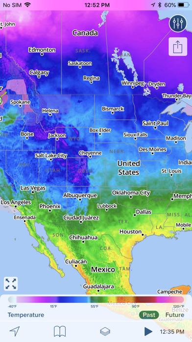 NOAA Hi-Def Radar Pro Screenshot