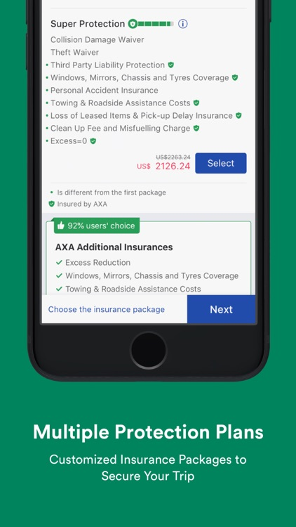 Global Car Rental-Car Hire App by Fu Dongdong