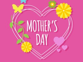 Mother's Day Greetings Sticker