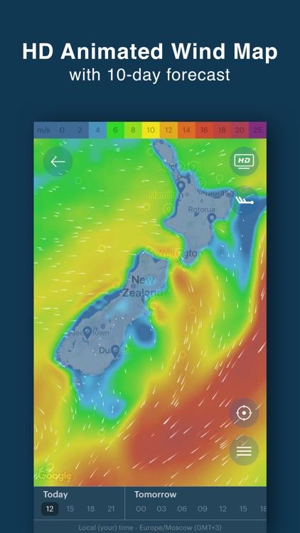 Windy Pro: marine weather app