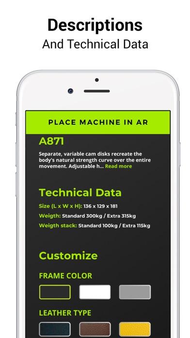DHZ Fitness ARScreenshot von 4