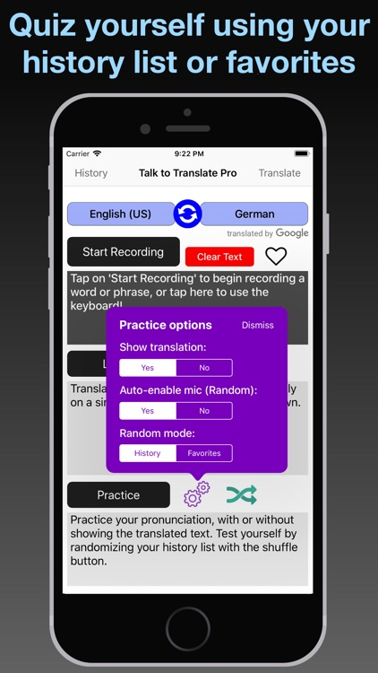 T2T Pro: Speech Translation screenshot-4