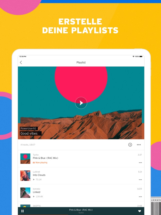 ‎SoundCloud - Musik & Audio Screenshot