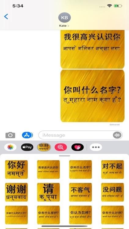Chinese Hindi screenshot-5