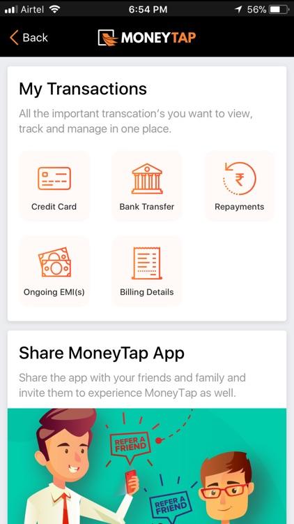 MoneyTap - Loan & Credit Card screenshot-4