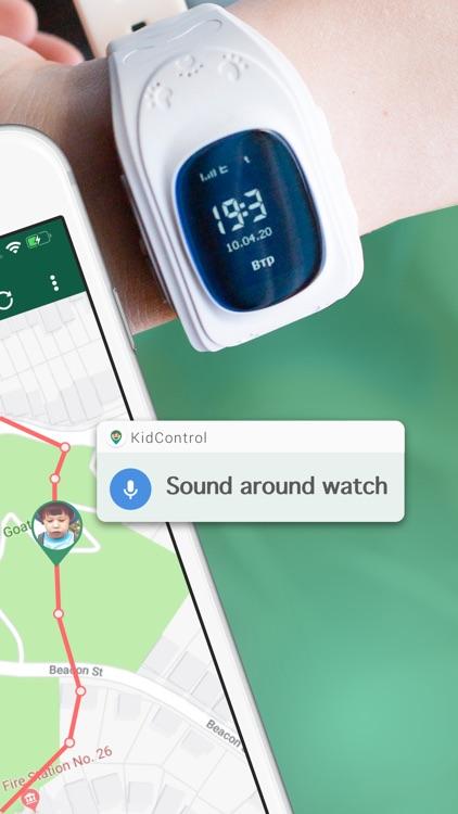 Family GPS Tracker KidControl screenshot-8
