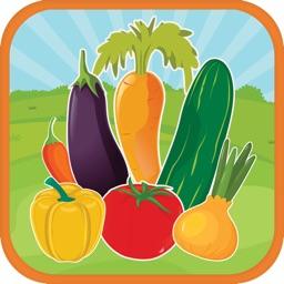 Learn ABC Vegetables Alphabet