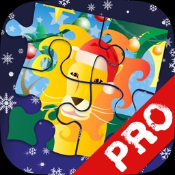 Xmas Jigsaws Game: Jungle PRO