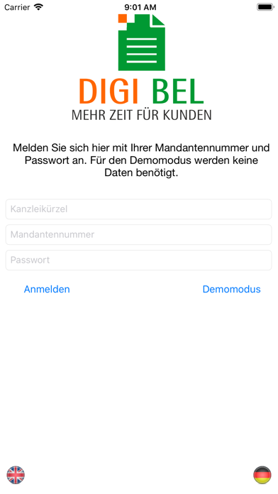 DIGI-BEL screenshot one