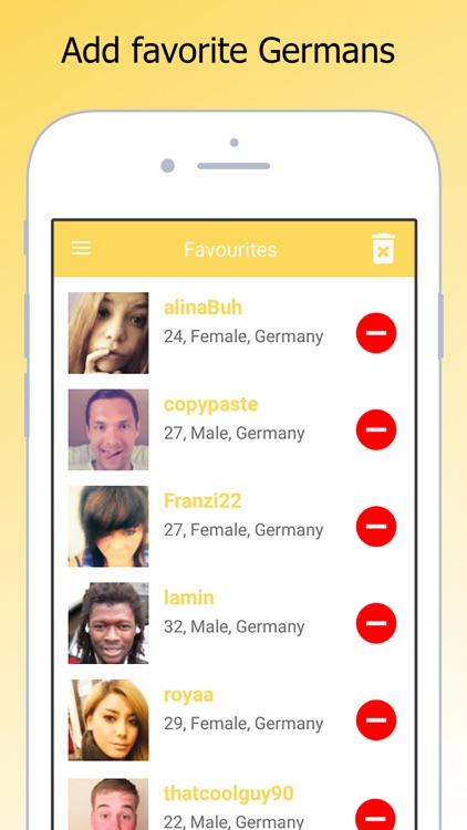 Single And German Dating Chat screenshot-4