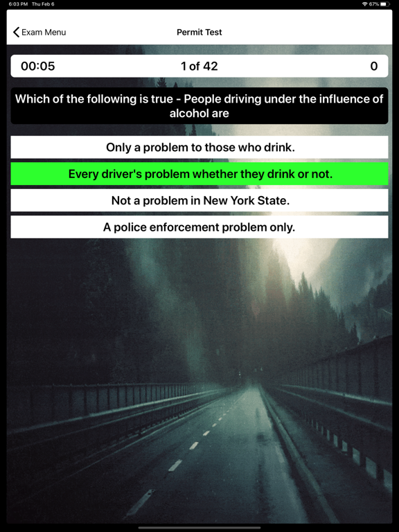 NYS Drivers Permit Test Prep screenshot 12