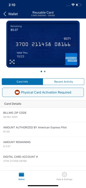 Amex Go on the App Store