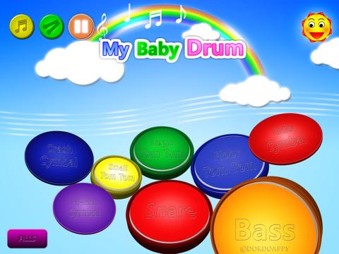 私の赤ちゃん ドラム liteのおすすめ画像1