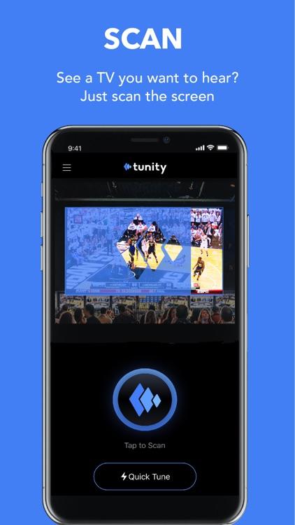 Tunity: Hear any muted TV