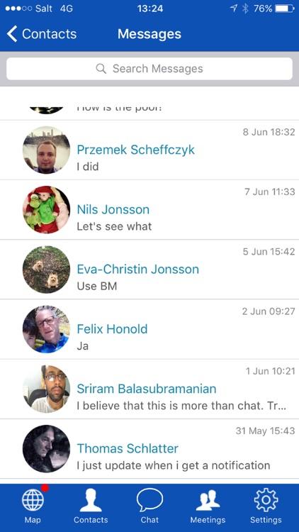 BizMeet - Share your location screenshot-3