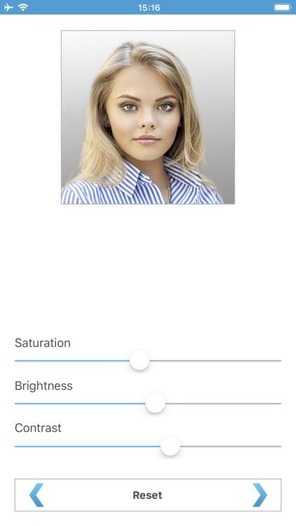 Biometric Passport Photo screenshot-5