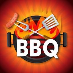 Barbecue Love Stickers