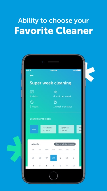 MATIC - Home Cleaning Service screenshot-4