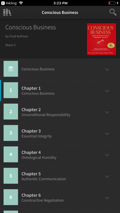 Ebooks By Inkling review screenshots