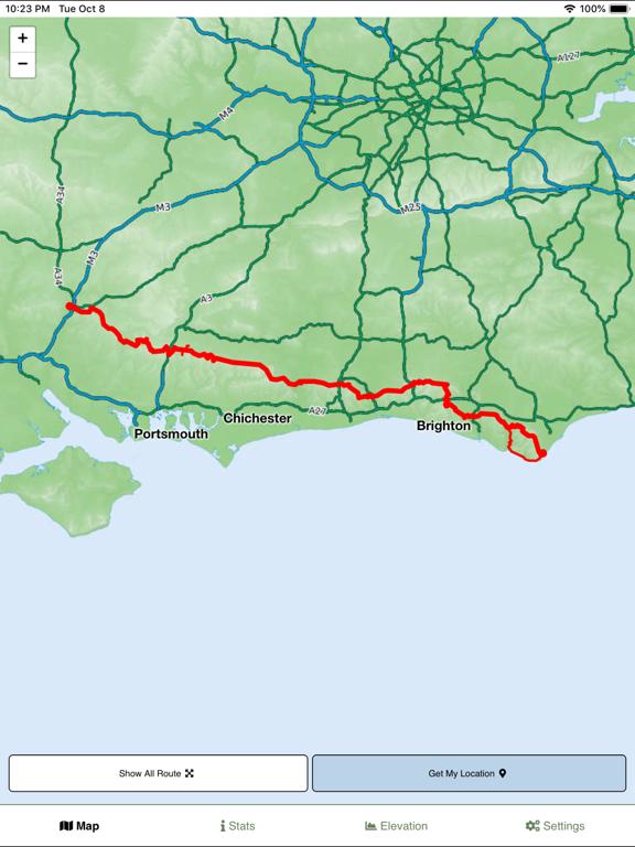 South Downs Way Map screenshot 6