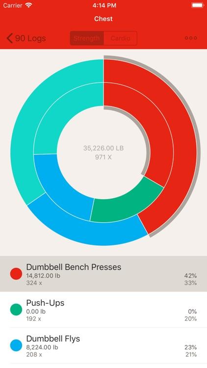 GymBook - Strength training screenshot-5