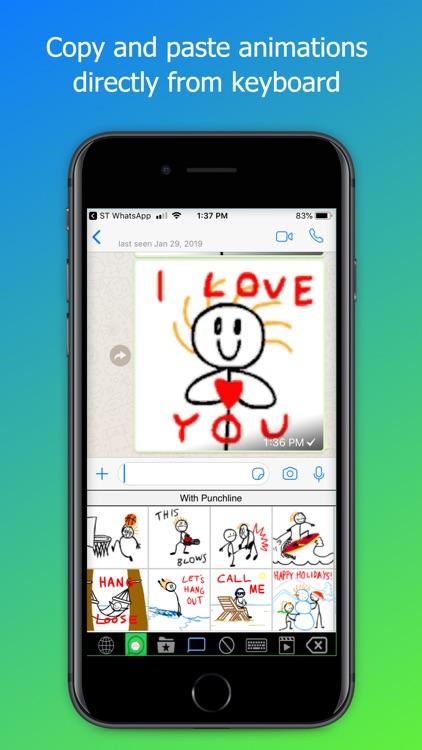 Stick Texting - Chat screenshot-5
